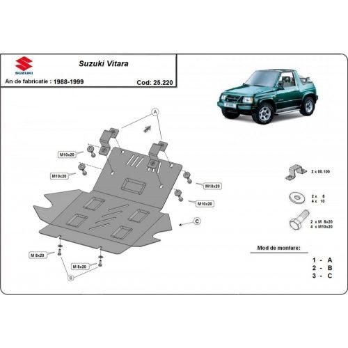 Suzuki Vitara, 1988-1999 - Acél Motorvédő lemez