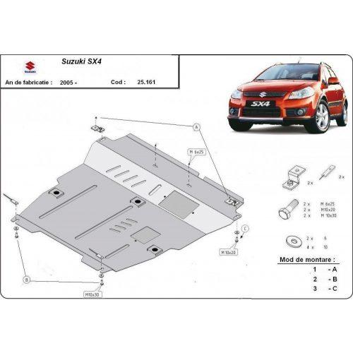 Suzuki SX4, 2006-2013 - Motorvédő lemez