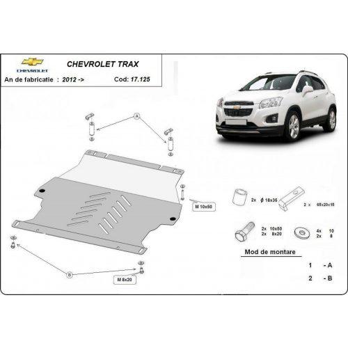 Chevrolet Trax, 2012-2020 - Acél Motorvédő lemez