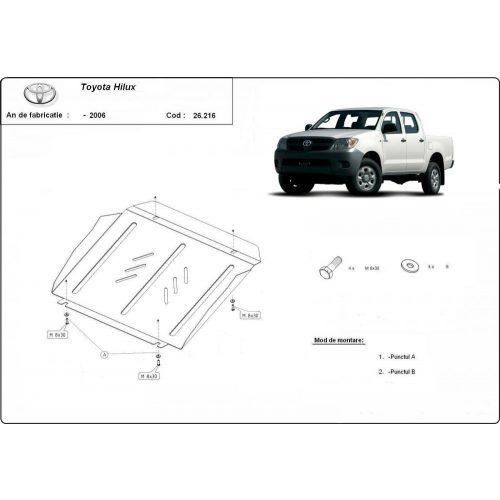 Toyota Hilux I ,2000-2004 - Motorvédő lemez