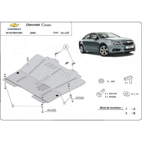 Chevrolet Cruze, 2008-2020 - Acél Motorvédő lemez