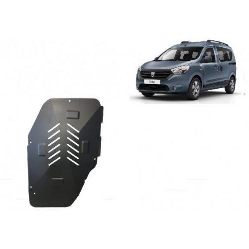 Dacia Dokker, 2012-2020 - Acél Üzemanyagtank védő lemez