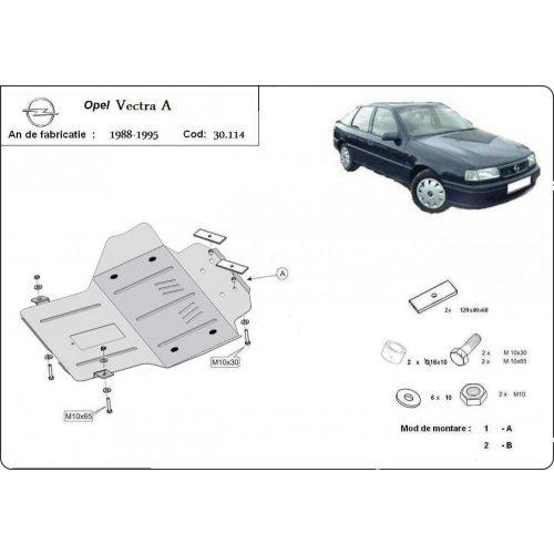 Opel Vectra A, 1988-1995 - Motorvédő lemez