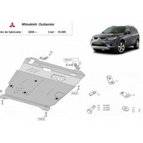 Mitsubishi Outlander, 2006-2012 - Motorvédő lemez
