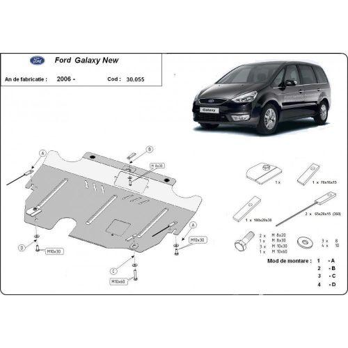 Ford Galaxy, 2007-2015 - Acél Motorvédő lemez