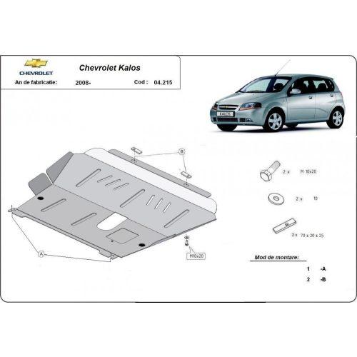 Chevrolet Kalos, 2008-2020 - Motorvédő lemez