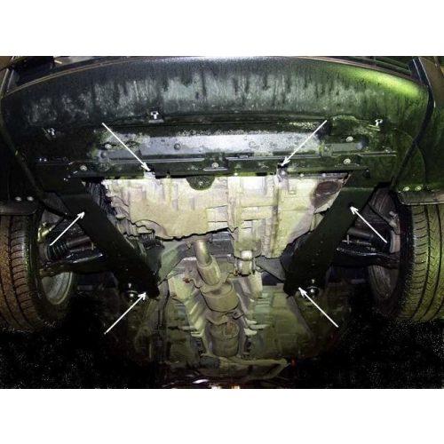 Ford Mondeo III, 2000-2007 - Acél Motorvédő lemez