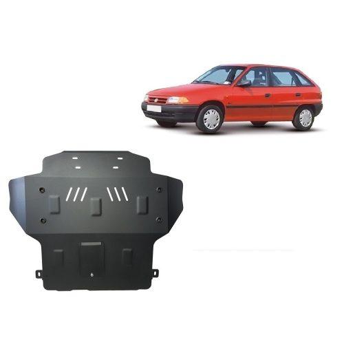 Opel Astra F, 1991-1996 - Acél Motorvédő lemez