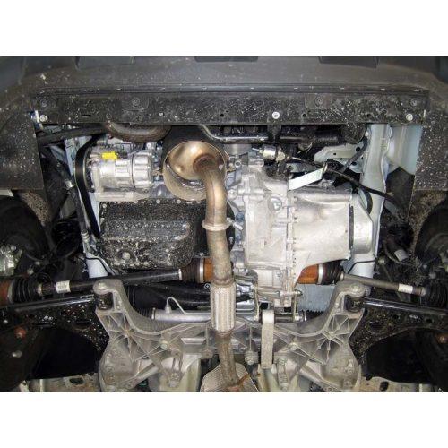 Peugeot Bipper, 2008-2020 - Acél Motorvédő lemez