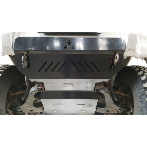 Mitsubishi Pajero III, 1999-2007 - Acél Motorvédő lemez