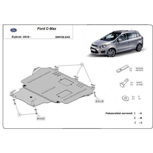Ford C-Max, 2010-2020 - Motorvédő lemez