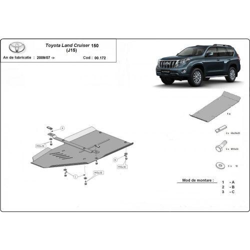 Toyota Land Cruiser 150, 2009-2020 - Váltóvédő lemez