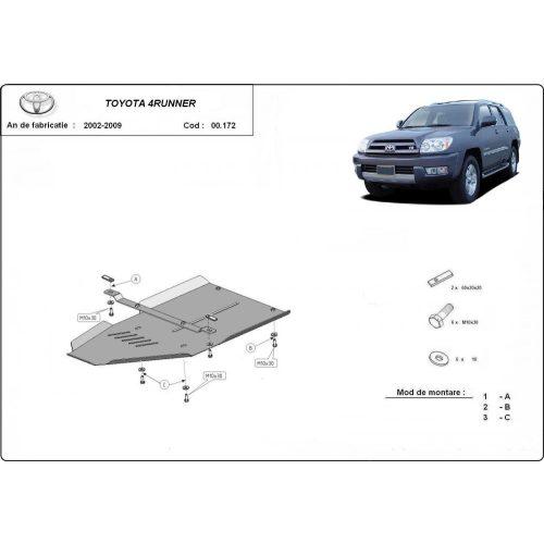 Toyota 4Runner, 2002-2009 - Acél Váltóvédő lemez