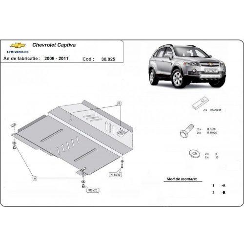Chevrolet Captiva, 2006-2010 - Motorvédő lemez