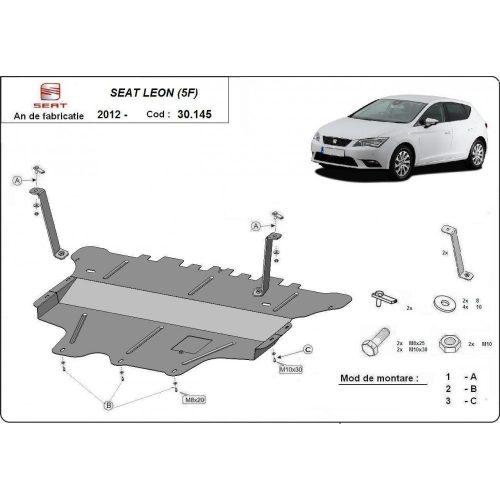 Seat Leon, 2012-2020 - Motorvédő lemez