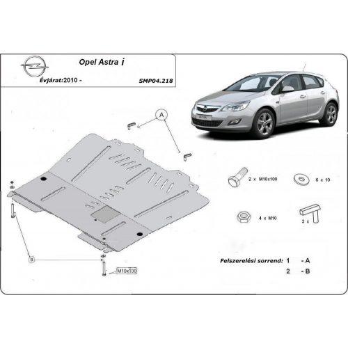 Opel Astra I, 2010-2020 - Motorvédő lemez