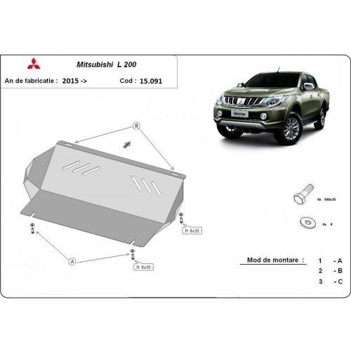 Mitsubishi L200, 2015-2018 - Hűtővédő lemez