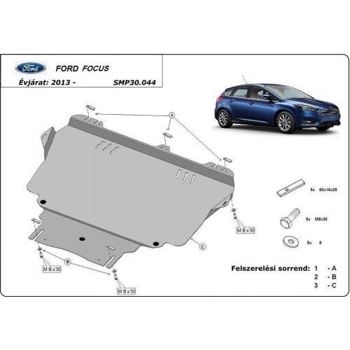 Ford Focus III, 2010-2018 - Motorvédő lemez