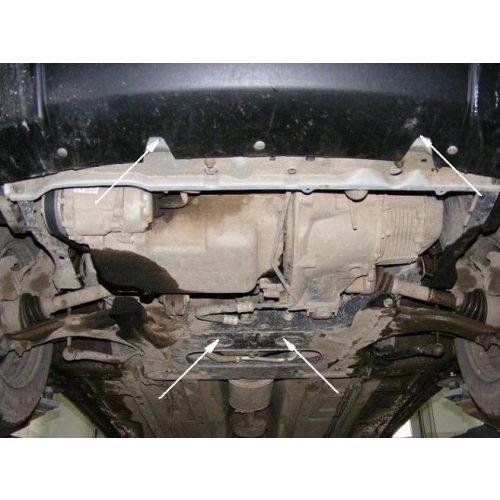 Citroen Xsara, 1997-2018 - Acél Motorvédő lemez