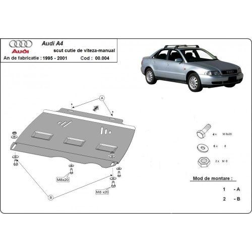 Audi A4, 1995-2000 - MANUÁL váltóvédő lemez