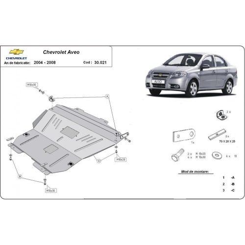 Chevrolet Aveo, 2004-2008 - Motorvédő lemez