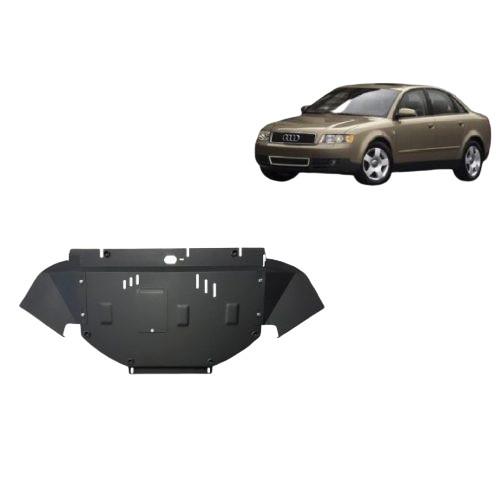 Audi A4, 2000-2005 - Acél Motorvédő lemez - Acél 1.9TDI