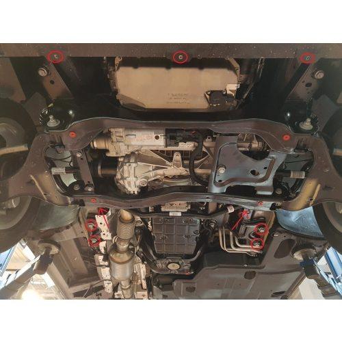 Mercedes Vito W447, 2014-2020 - Motor, váltó, hűtő, Stop&Go védő lemez