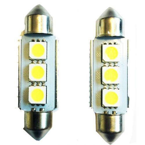 CANBUS 3SMD LED 41mm-es Szofita SMD-LA513C-41MM