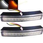 12 LED-es nappali menetfény HD INDEX funkcióval - párban