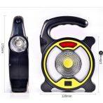 Kültéri, hordozható COB LED munkalámpa - GZ-15127