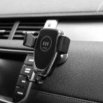 Autós tartó és vezeték nélküli Qi 10W töltő - GZ-15144