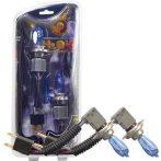 HOD halogén izzó HB4/9006 foglalattal emelt fényerővel - kék - párban