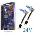 HOD halogén izzó H7 foglalattal emelt fényerővel 24V - kék - párban