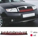 Dekoráció autóra - piros - 12V LA516