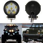 5 LED-es kerek munkalámpa - 1db