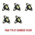 12-24V Canbus 10db-os SMD-SJ-3030-3-41mm - fehér