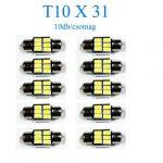 10db/csomag 6SMD LED SMD-10X31-6SMD Szofita