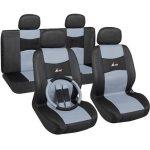 Univerzális üléshuzat szürke-fekete UL-AG28505B