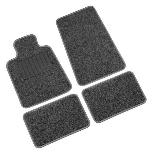 Autós szövet szőnyeg LAMPA Pro-Fit5, 4db, fekete-szürke színű