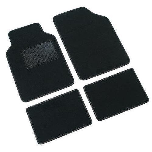 Műanyagszövet autószőnyeg Lampa SUPRA C , fekete színű
