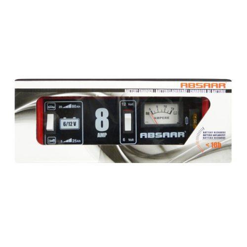Akkumulátor töltő 6-12V, 8A
