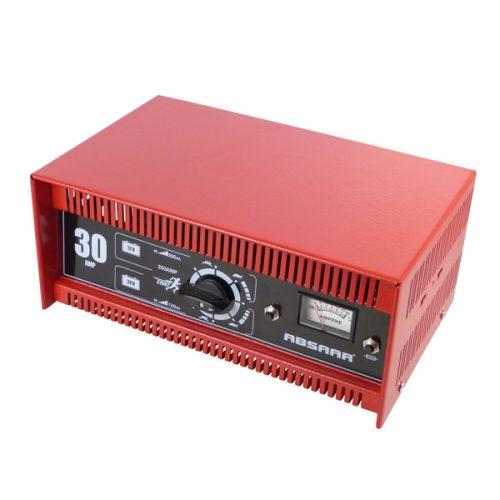 Akkumulátor töltő 12-24V, 30A