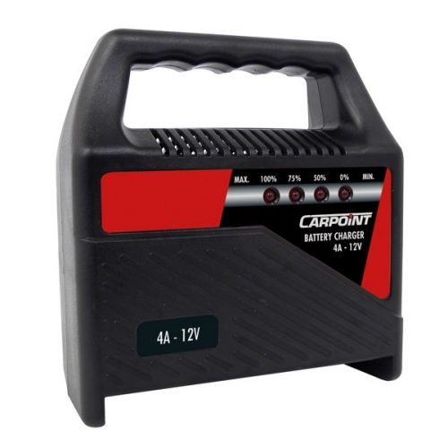 Akkumulátor töltő 6-12V, 4A