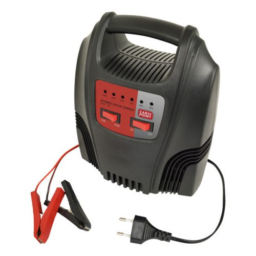 Akkumulátor töltő 6-12V, 12A