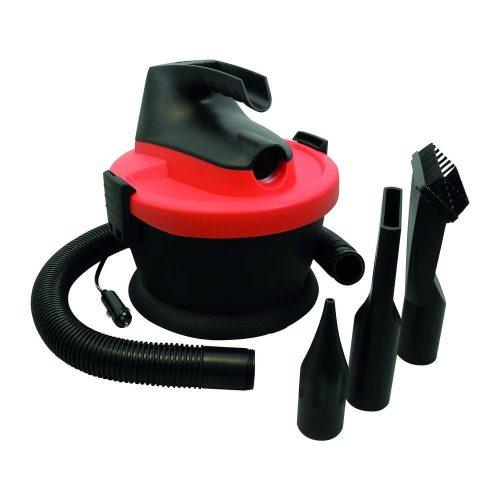 Carpoint autóporszívó, hordozható, 12V, 135W - piros-fekete