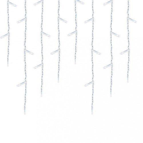 LED-es jégcsap fényfüggöny - 230 LED-del - hidegfehér