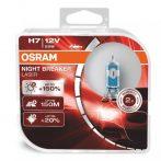 OSRAM H7 Night Breaker Laser halogén autóizzó - 2db