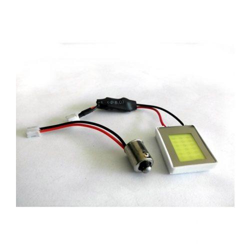 18 COB LED-es panel 27.1X21.8mm fehér - PCB 18 COB