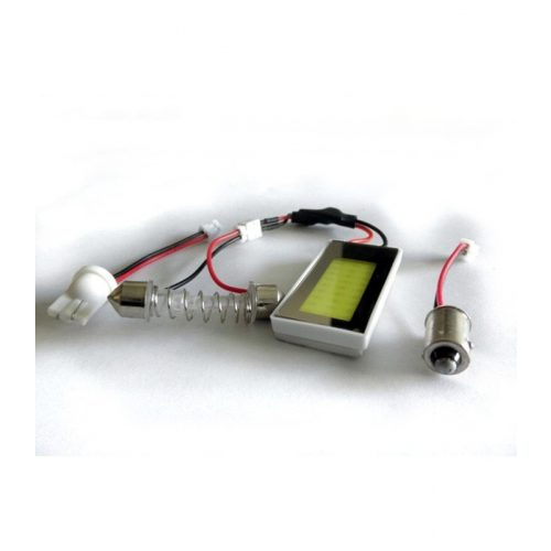 27 LED-es panel 41.78X21.73mm - PCB 27 COB
