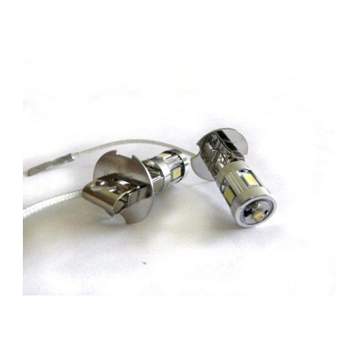 LED dióda H3 foglalatú fehér - Exod H3 4x5630 + 3W